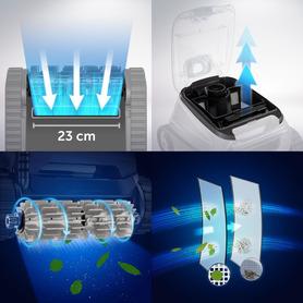 Set aus 2 Sesseln compact. einem Tisch und einem Objekt-Behälter