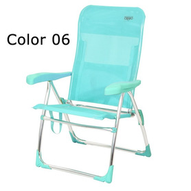 Air Deluxe Aluminium Sessel mit 7 Positionen