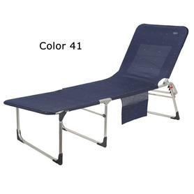 Air Deluxe Aluminium Sessel mit 7 Positionen und langem Sitz