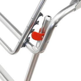 Air Deluxe Aluminium Sessel mit 7 Positionen compact Kopfteil