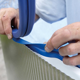 LED-Strahler für Holz- oder WPC-Pools PLWPB