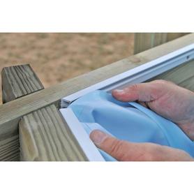 Jilong Mistral Stahlrahmen Pool 549x305x122 cm 17728FR