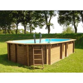 Gre WPC Pool 804x386x124 KPCOV80