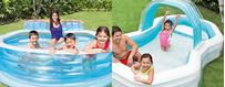 Aufblasbare Schwimmbecken