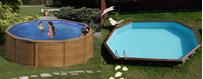 Rustikale Pools