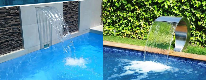 Pool Wasserfälle