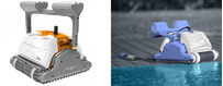 Poolroboter für öffentlichen Pool