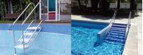 Poolleitern für Senioren