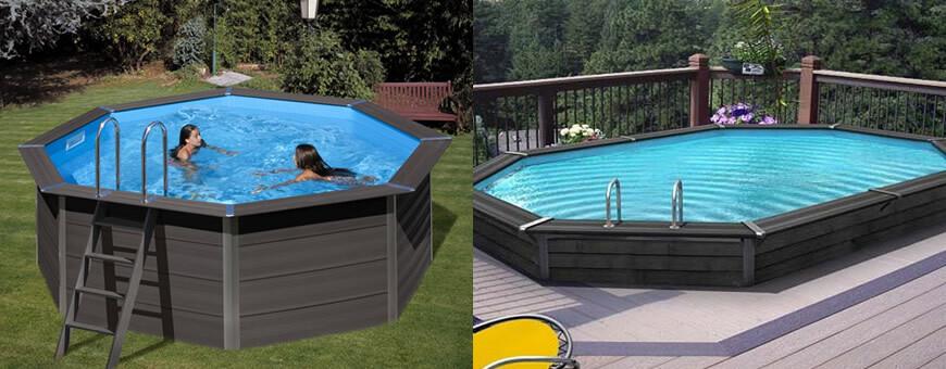 Wood Plastic Composite Pools