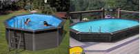 Wood Plastic Composite Pools