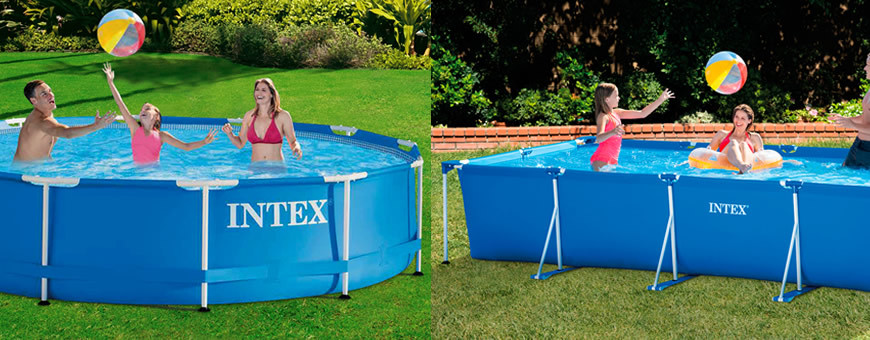 Intex Metal Frame Pools
